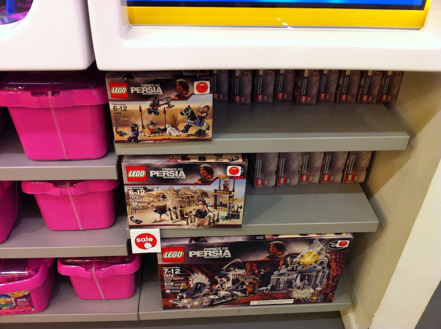 LEGO Store 50% off sale