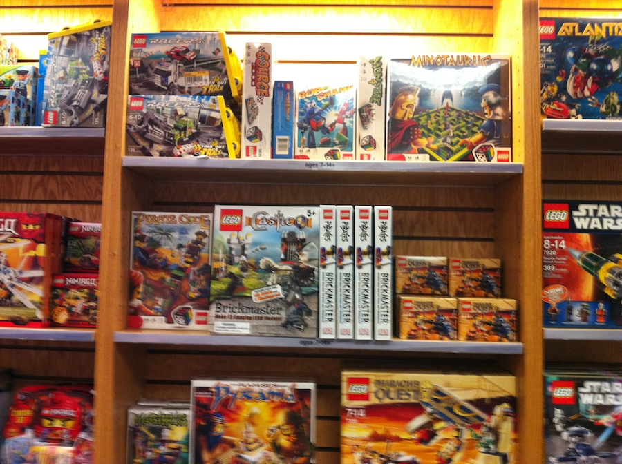 LEGO at Borders