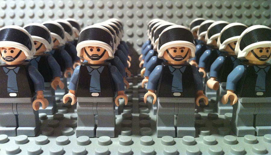 LEGO Star Wars Rebel Scout Troopers