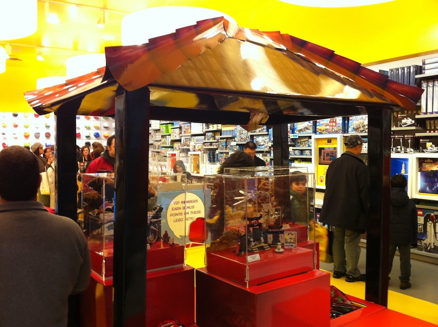 LEGO Store Ninjago Display