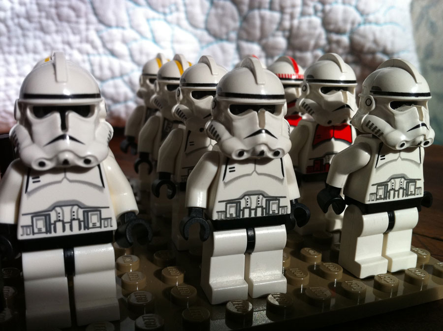 Lego army this week i have a dozen now plus the pilots which aren