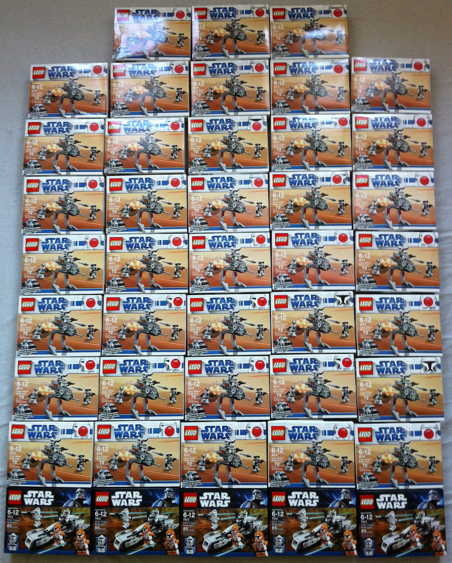 LEGO Clone Walker Battle Packs #8014