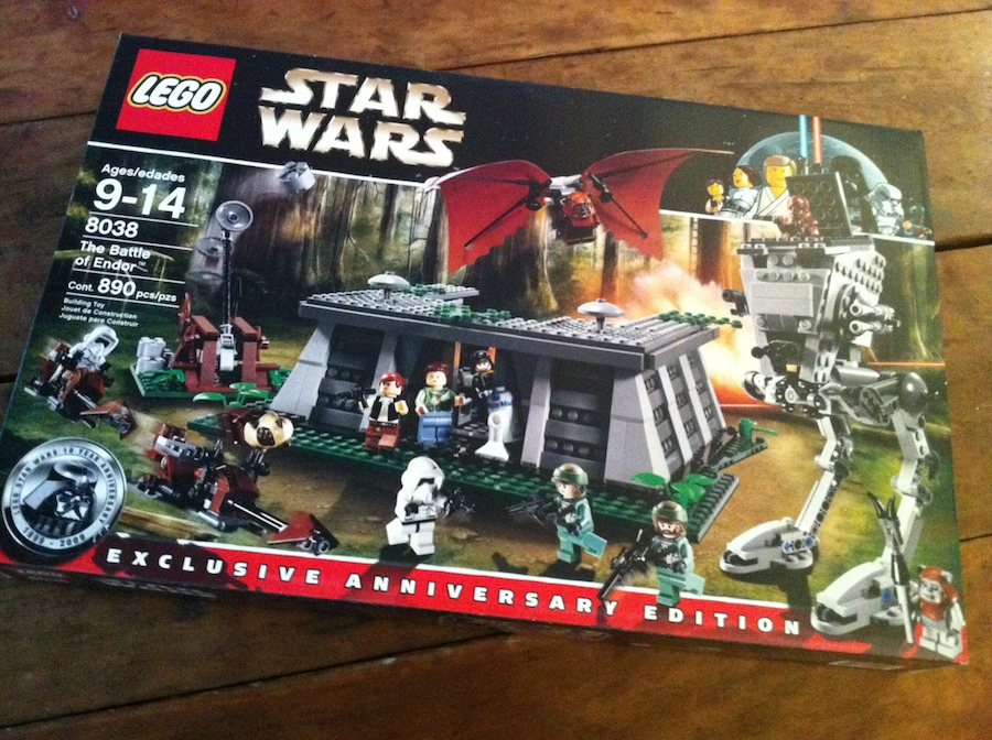 Box for LEGO Battle of Endor set 8038