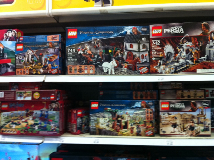 LEGO 2011 sets at Toys R Us