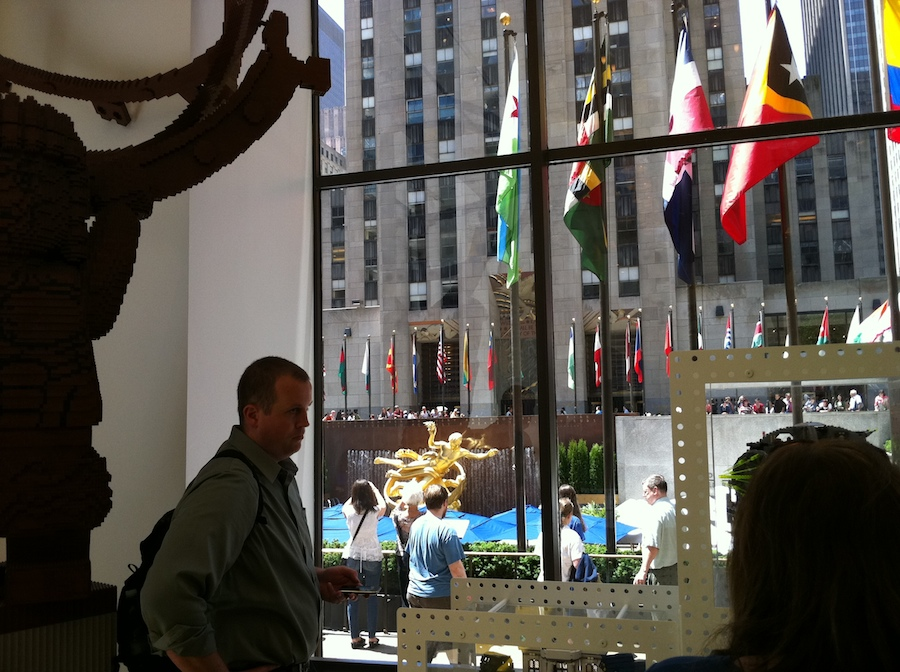 LEGO Store Rockefeller Center New York City