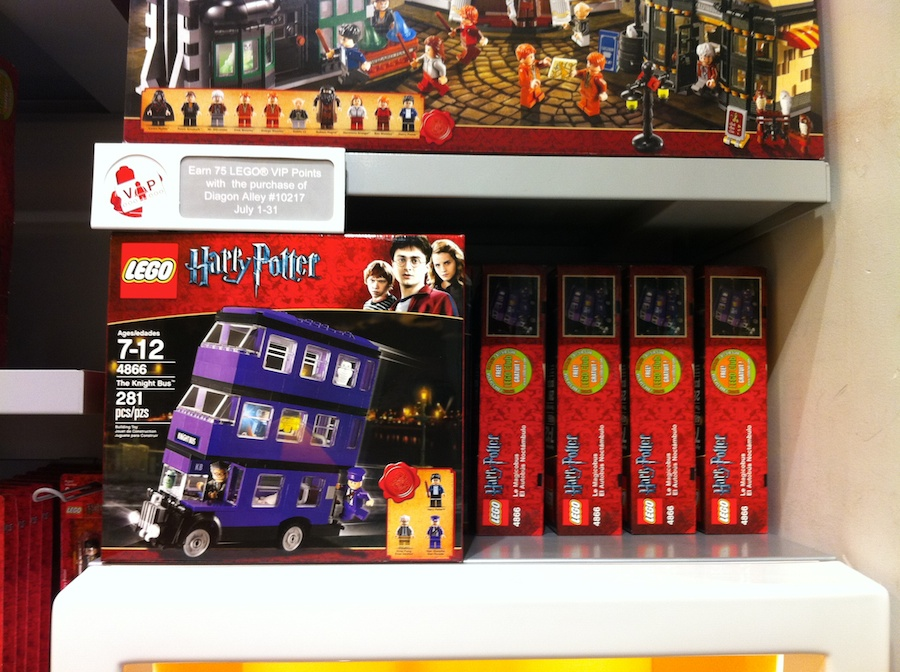 LEGO Store Star Wars and Harry Potter 2011 Sets