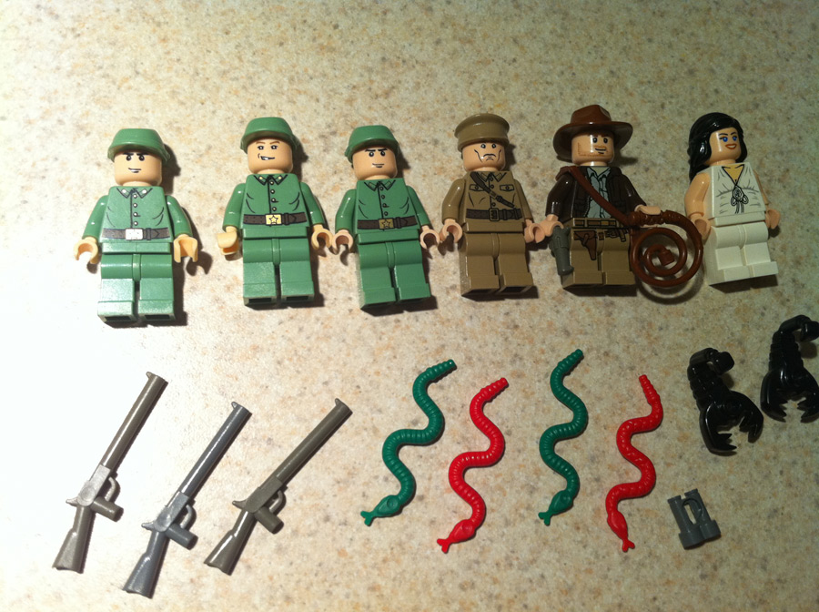 LEGO Indiana Jones Minifigs
