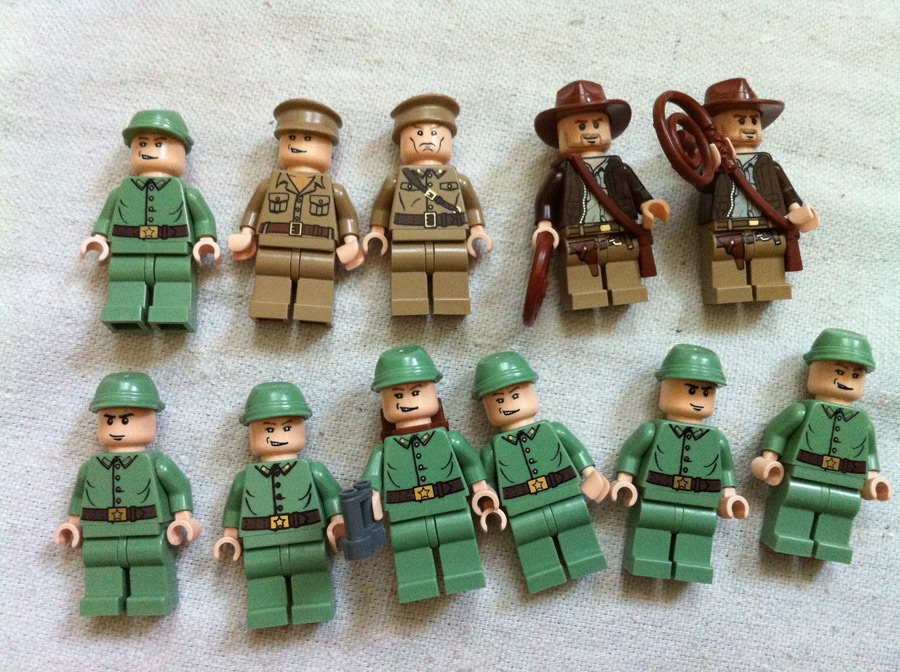 LEGO Indian Jones Minifigs