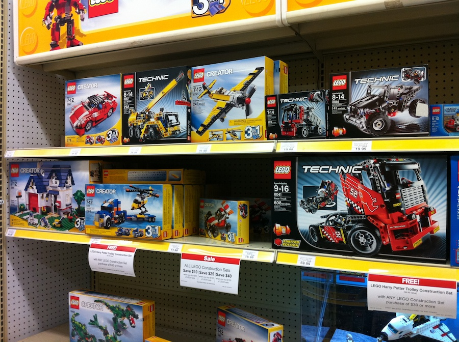 LEGO at Toys R Us – Late Summer 2011