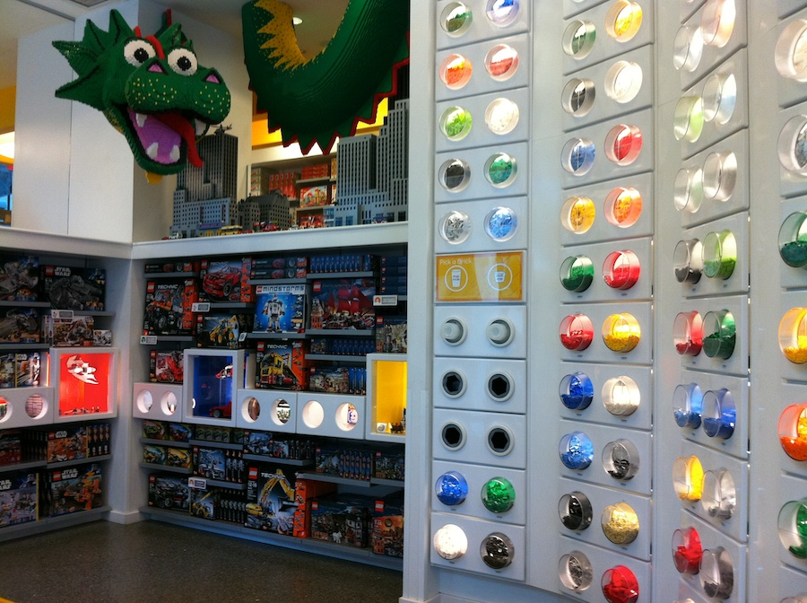 A Trip To The Lego Store Rockefeller Center New York