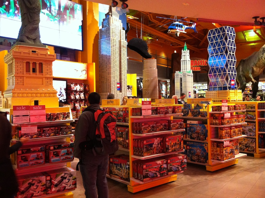LEGO at Toys R Us Times Square, NYC