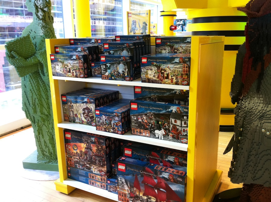 LEGO at FAO Schwarz in New York City
