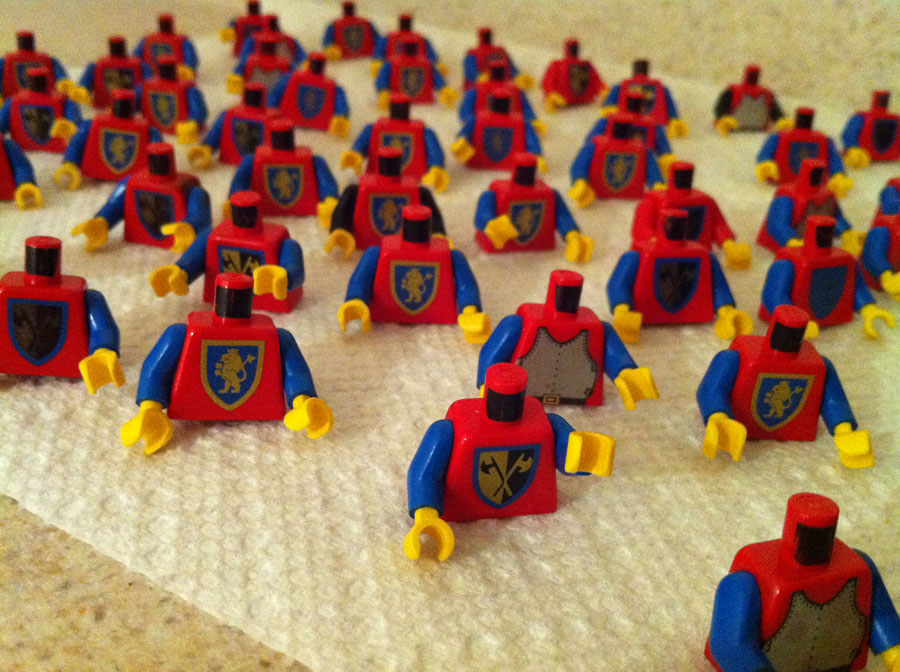 LEGO Classic Castle Crusaders Minifigs