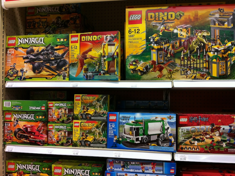 LEGO 2012 Sets at Toys R Us