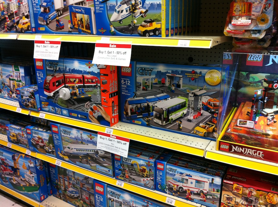 LEGO Sale at Toys R Us