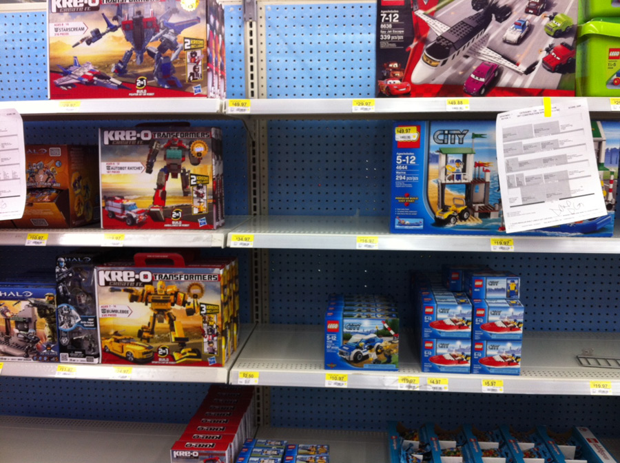 LEGO Sale Continues at Wal-Mart