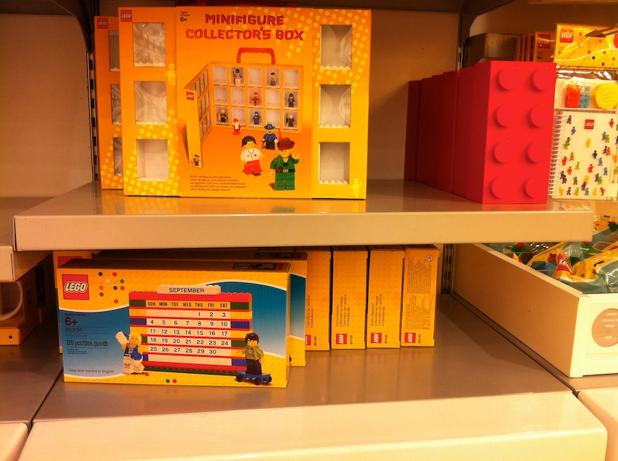 New 2012 Sets Arrive at the LEGO Store