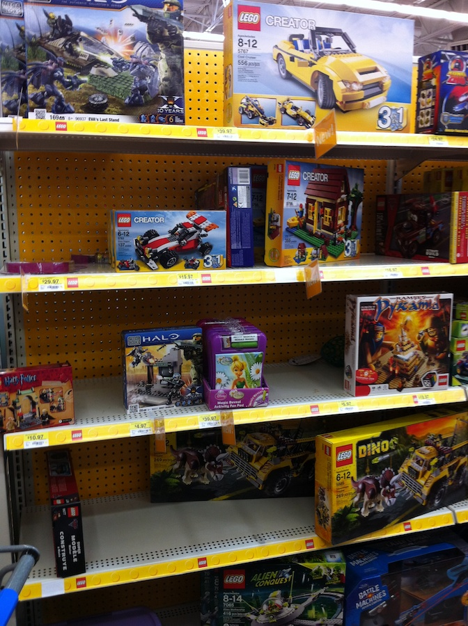 2012 LEGO Sets Arrive at Walmart