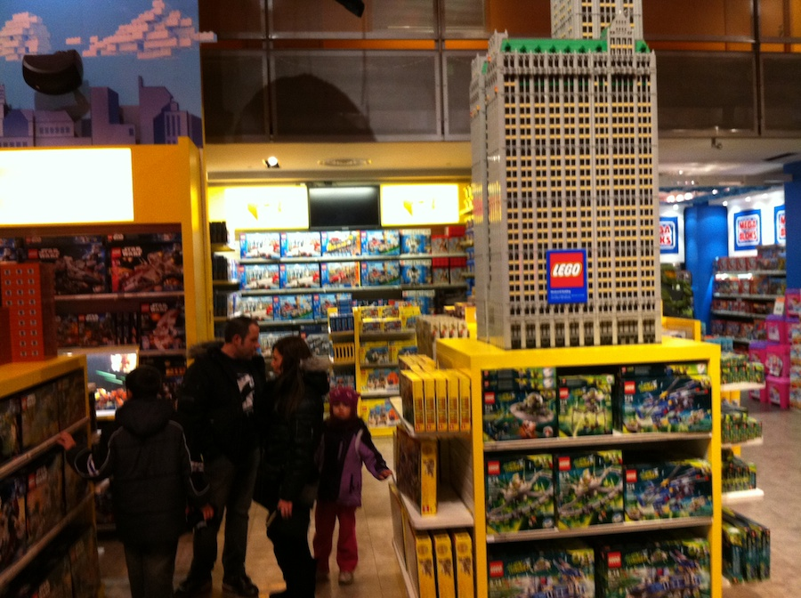 LEGO at Toys R Us Times Square New York City