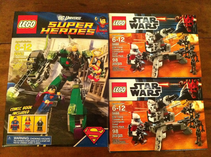 2012 Star Wars LEGO Sets Arrive at Target