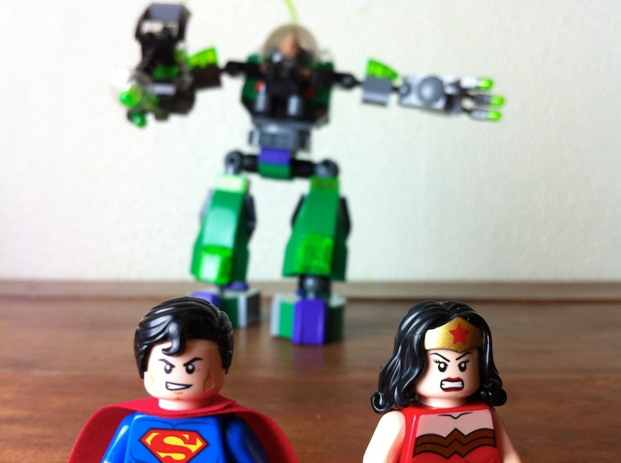 LEGO 6862 Superman Vs Power Armor Lex