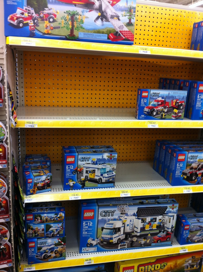 Lego Toys At Walmart : The weirdness of lego sales at walmart brick update