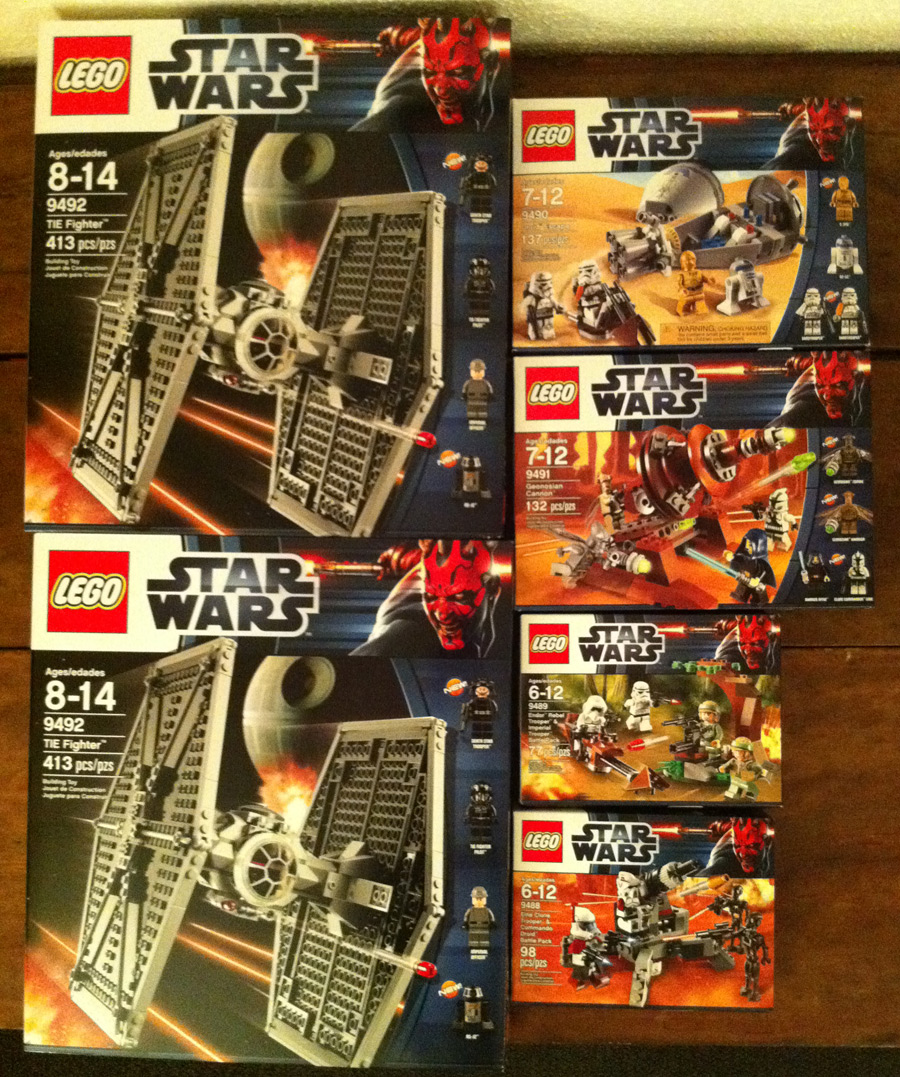 2012 LEGO Star Wars Sets