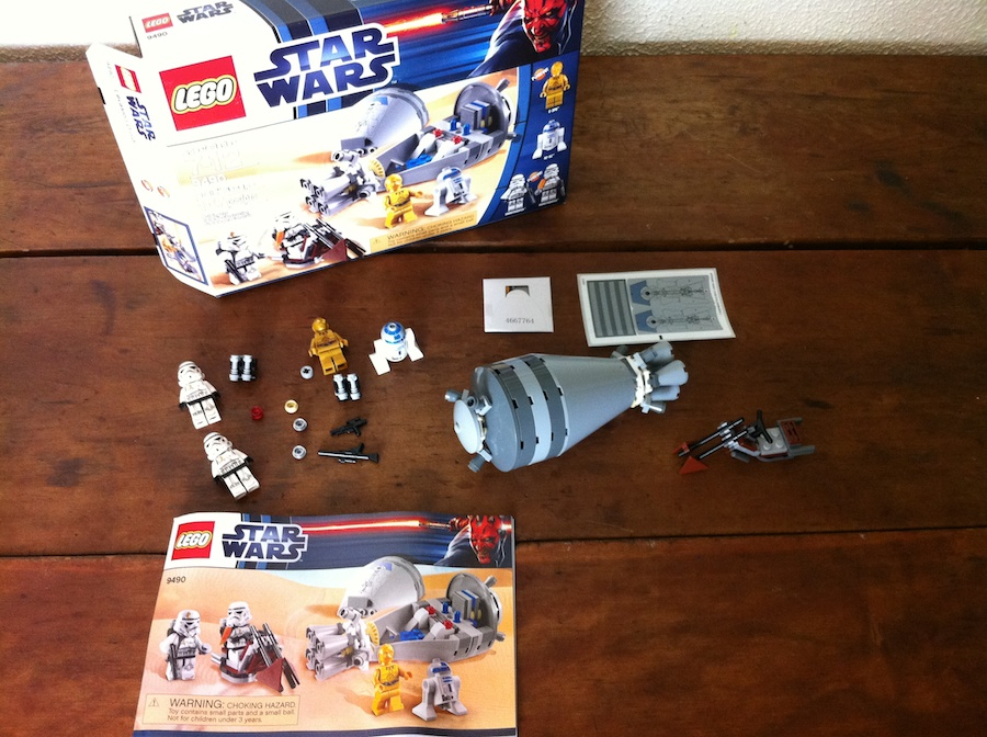 LEGO 9490 Star Wars Droid Escape