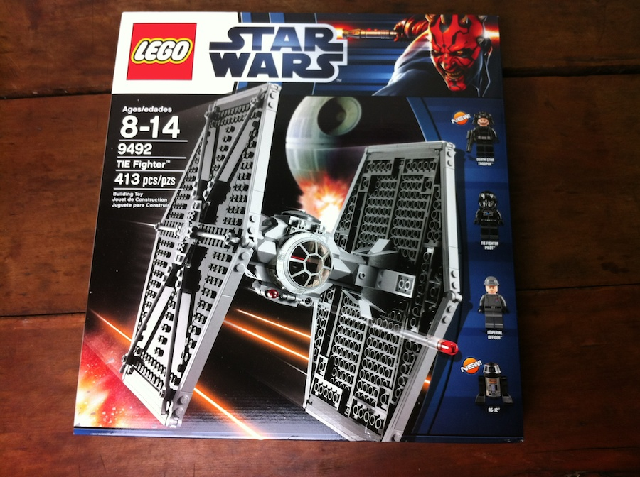 LEGO 9492 TIE Fighter