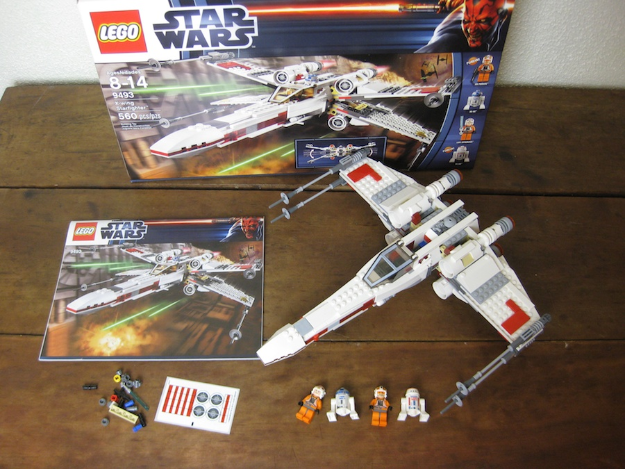 LEGO Star Wars X-Wing Starfighter 9493