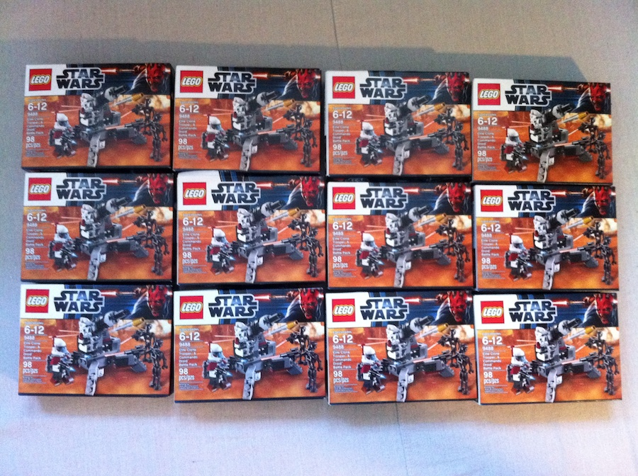 9488 Star Wars Elite Clone Trooper & Commando Droid Battle Packs
