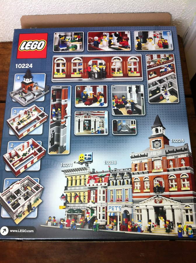 LEGO Town Hall 10224