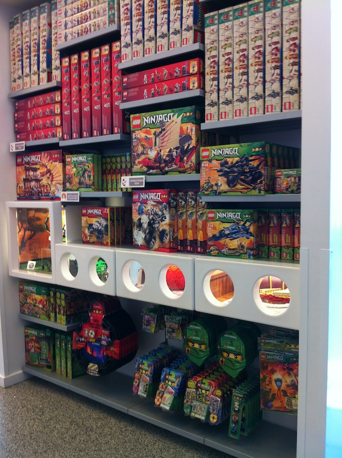 LEGO Store, Rockefeller Center NYC