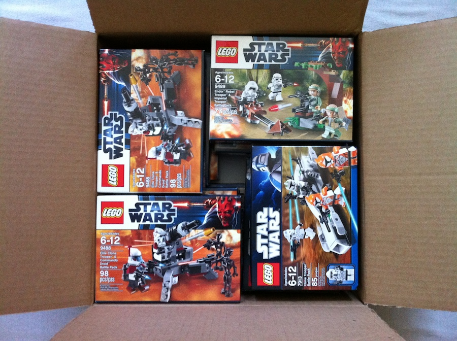 LEGO Star Wars Battle Packs