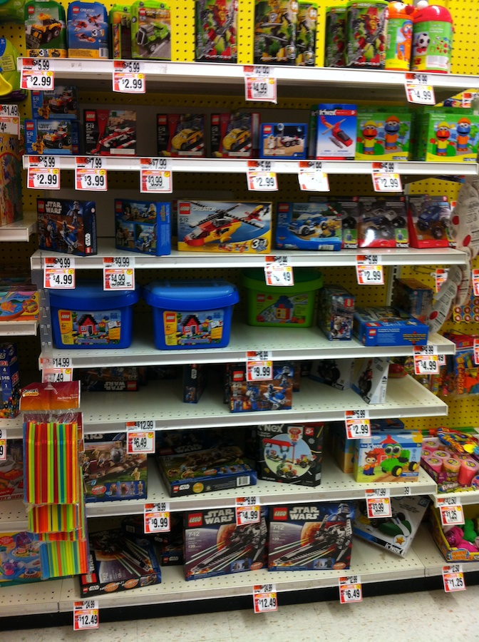 LEGO at Stop & Shop