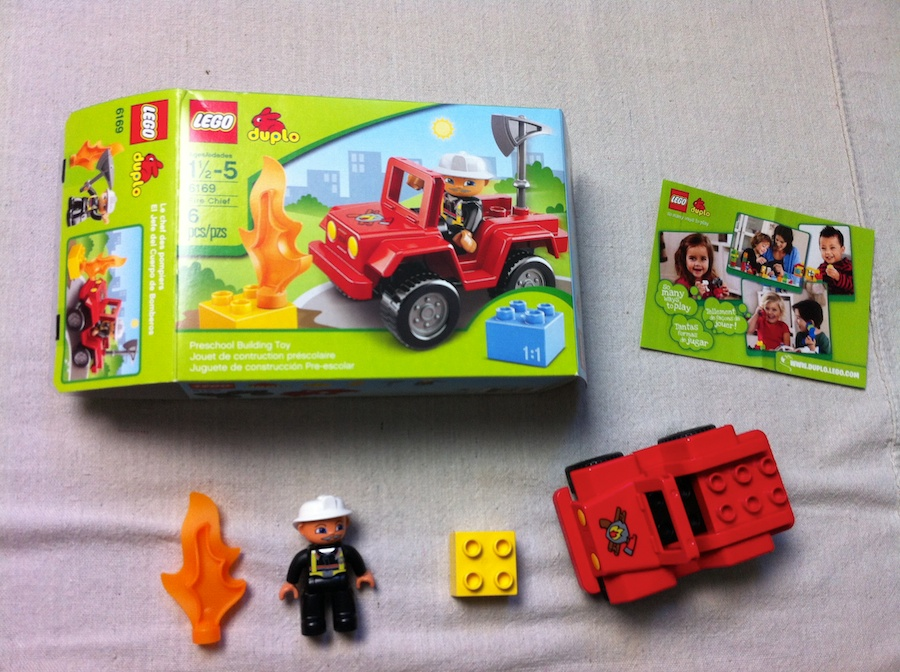 DUPLO Fire Chief 6169