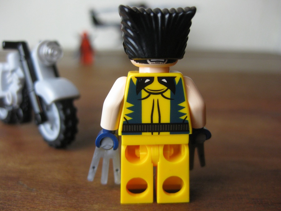 LEGO Wolverine's Chopper Showdown
