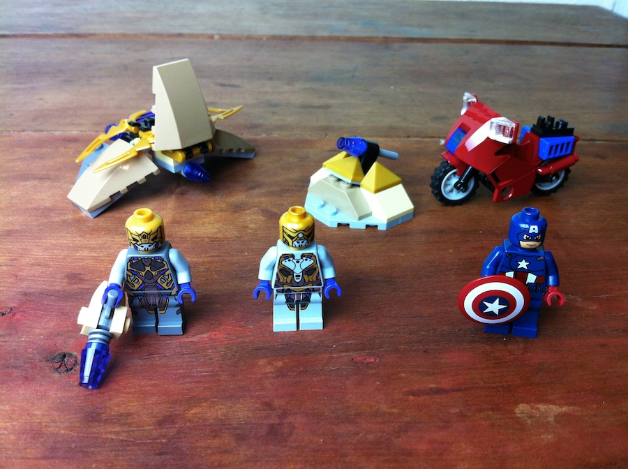 LEGO Captain America's Avenging Cycle