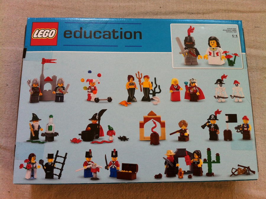 LEGO Fairytale and Historic Minifigure Set #9349