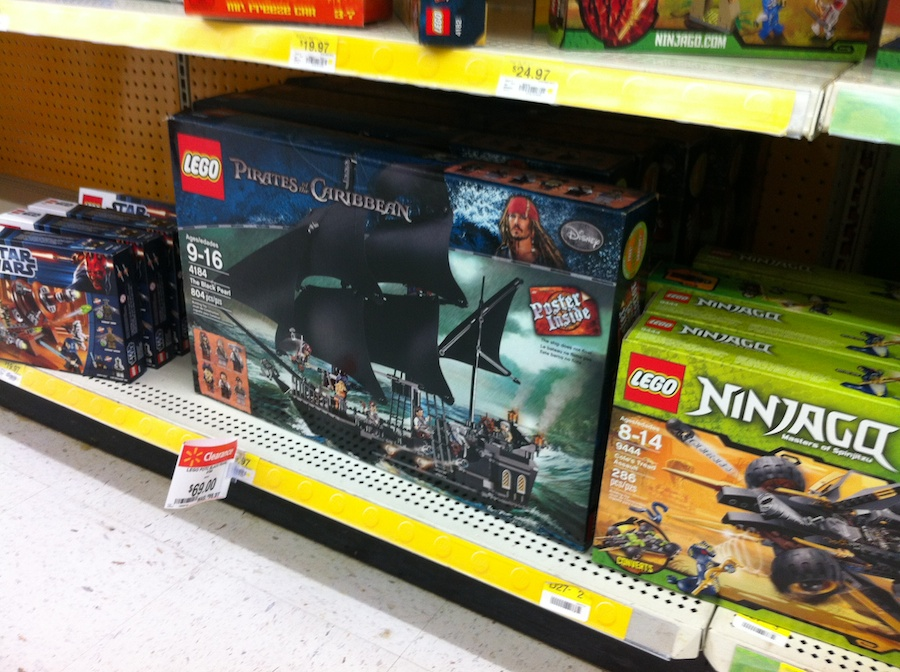 LEGO Sale at Wal-Mart Summer 2012