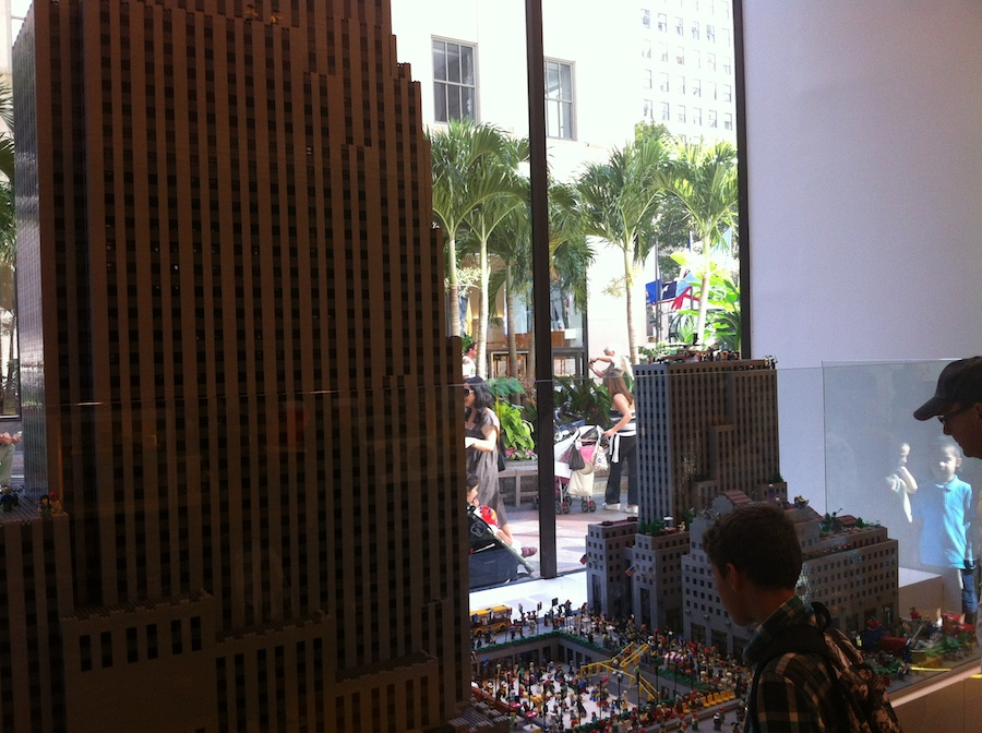 LEGO at Rockefeller Center