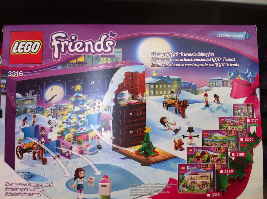 LEGO Advent Calendars Hit the Shelves – Star Wars, Friends, and City ...