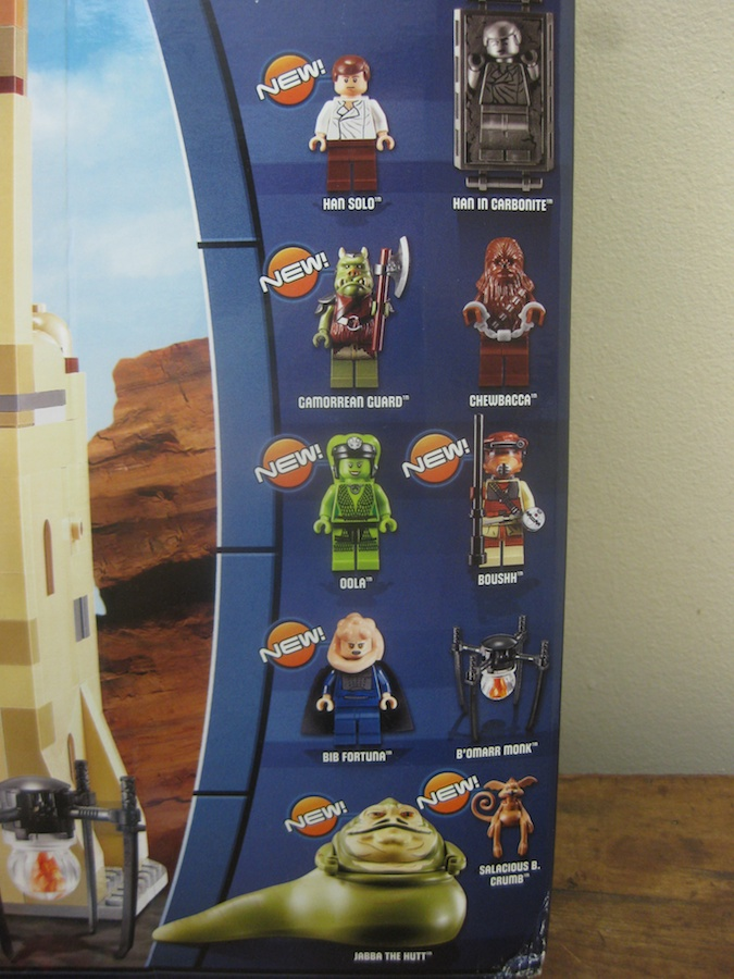 Lego Star Wars Jabbas Palace Set 9516 Review Brick Update