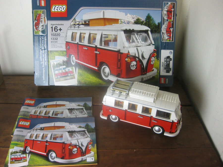 lego volkswagen t1 camper van set 10220 review brick. Black Bedroom Furniture Sets. Home Design Ideas