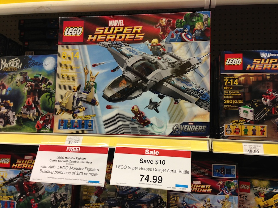 LEGO at Toys R Us