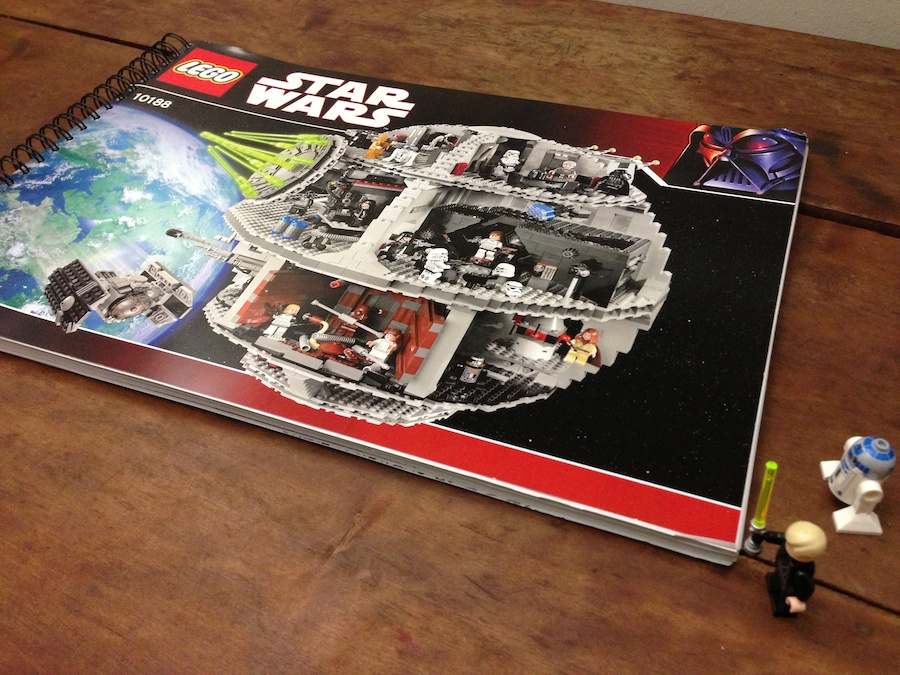 Lego Death Star Brick Update