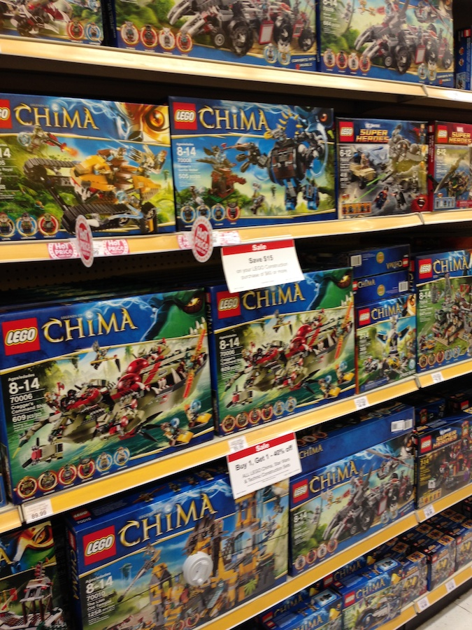LEGO at Target