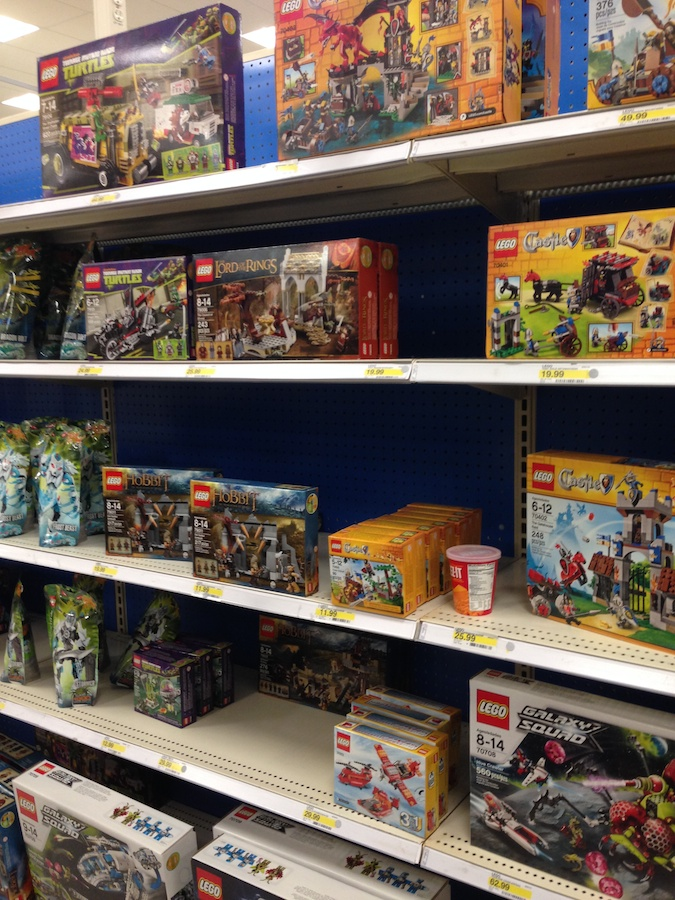 Lego Movie Sets And Minifigs Arrive At Target Brick Update