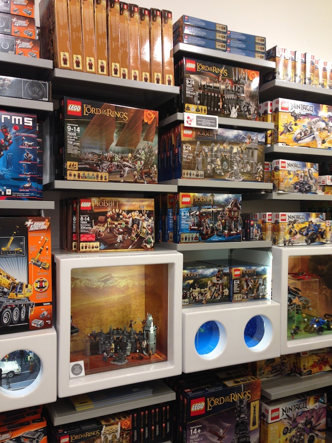 2014 Sets Arrive at LEGO Store!