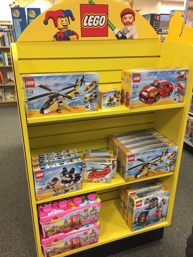 LEGO at Barnes & Noble